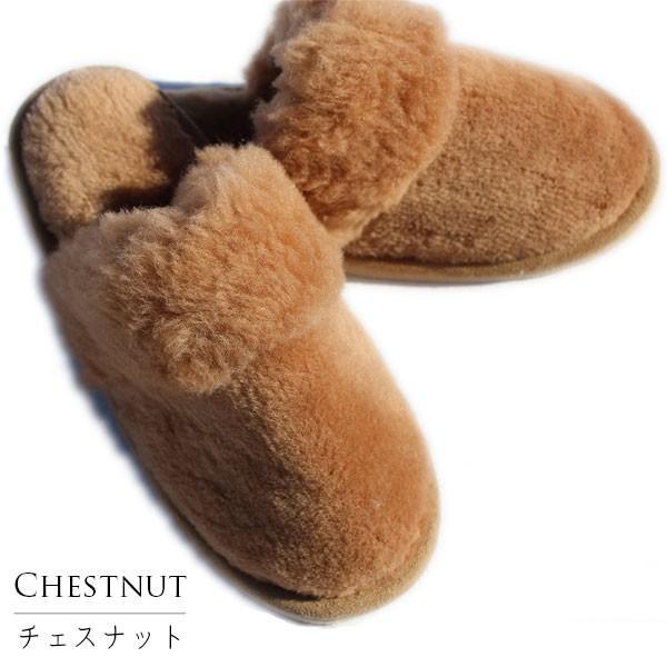 ムートンスリッパ ムートンブーツ 素足で履ける 洗える リアル天然羊毛 スリッパ あったか ルームシューズ デラックスタイプ レディース メンズ ふわふわ E800|mouton888|25