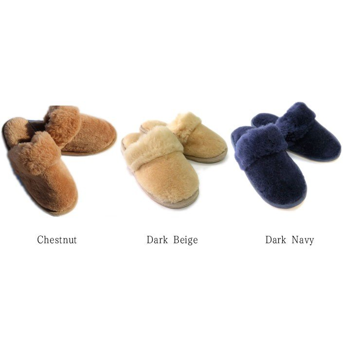 ムートンスリッパ ムートンブーツ 素足で履ける 洗える リアル天然羊毛 スリッパ あったか ルームシューズ デラックスタイプ レディース メンズ ふわふわ E800|mouton888|04