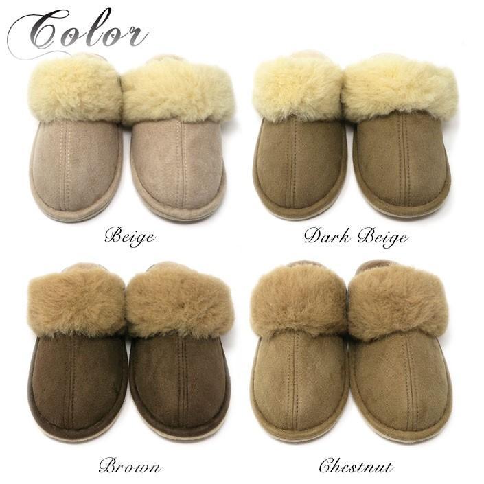 ムートンスリッパ 北欧 自然素材 素足で履ける 洗える 天然羊毛100% スリッパ あったか ルームシューズ 厚底タイプ レディース メンズ ぽかぽか 在庫処分|mouton888|02