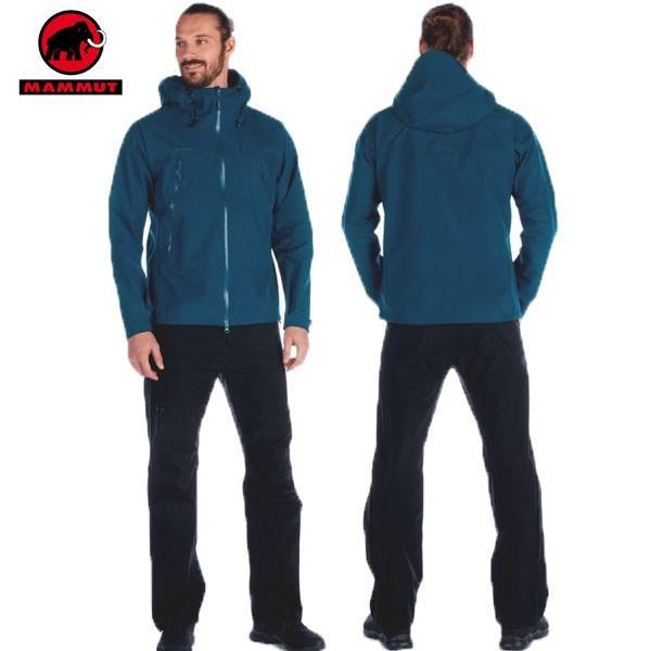 MAMMUT(マムート) CLIMATE Rain -Suit AF Men クライメイトレインスーツ アジアンフィット ゴアテックス カラー:50231 (MAMMUT_2019SS) あすつく