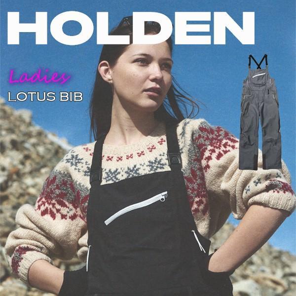 スノーボード ウエア ウェアー レディース 18-19 HOLDEN ホールデン W'S LOTUS BIB ロータスビブ