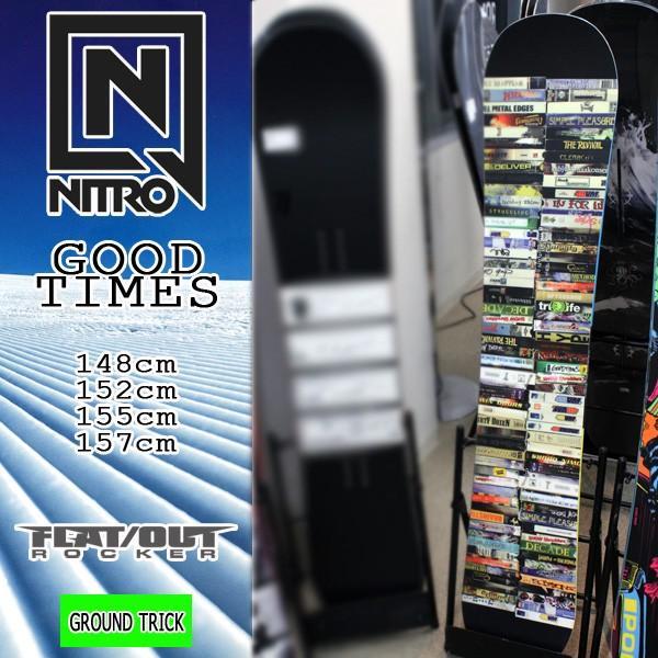 登場! スノーボード ボード NITRO 板 17-18 NITRO ナイトロ ナイトロ GOOD ボード TIMES, e-carts:617ac06d --- airmodconsu.dominiotemporario.com