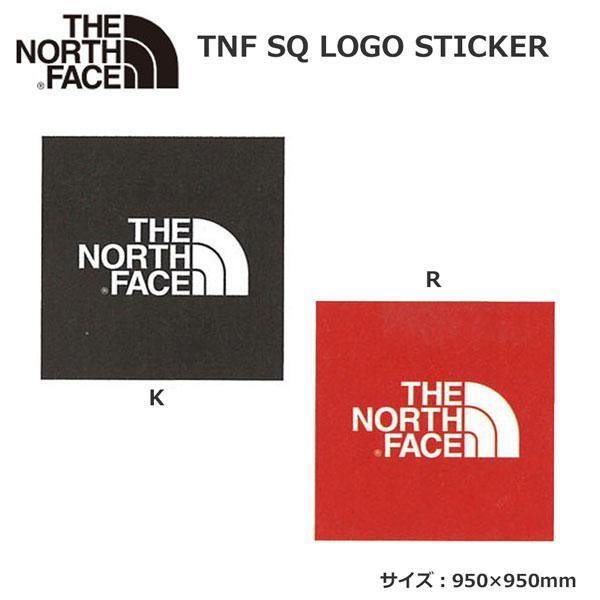 ザ ノースフェイス TNF スクエアー ロゴ ステッカー THE NORTH FACE TNF SQ LOGO STICKER NN32014 メール便配送|move-select