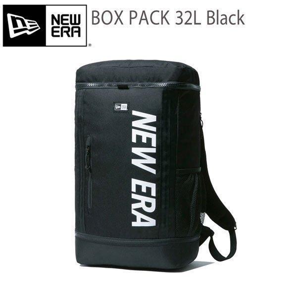 バックパック ニューエラ NEW ERA BOX PACK NEW ERA 30×52.5×17 約32L リュックサック ブラック