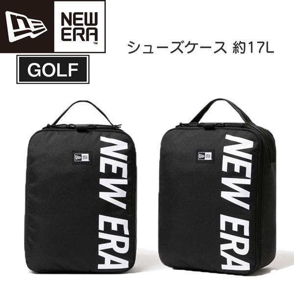 ゴルフ シューズバッグ ニューエラ NEW ERA シューズケース 約17L W25×H34×H13cm