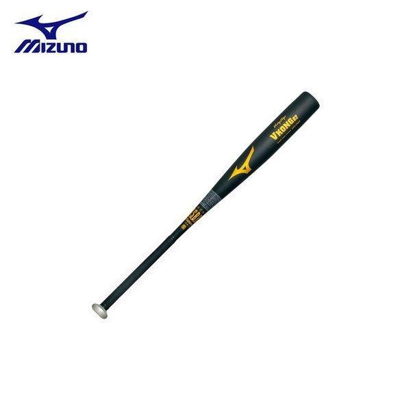 ミズノ 野球 MIZUNO ミズノ 一般軟式金属バット ビクトリーステージ Vコング02(金属製) 84cm750g平均 ブラック 新球対応