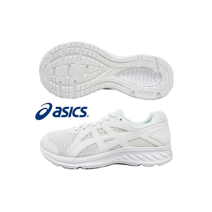アシックス ランニングシューズ 通学靴 エキストラワイド 1011a206-100 ホワイト asics JOLT 2 メンズ レディース ジョギング 白 MOW-SPORTS|mow-sports