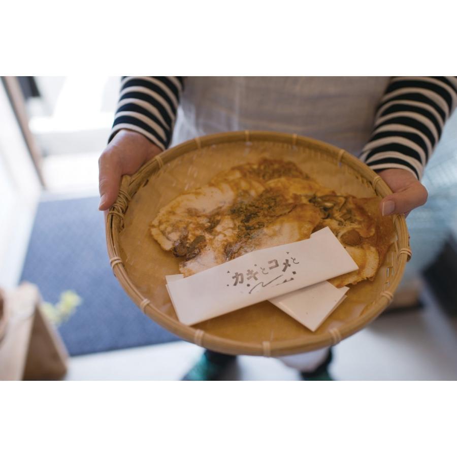 牡蠣 せんべい 「カキとコメと」 6枚入り|mpantry|04