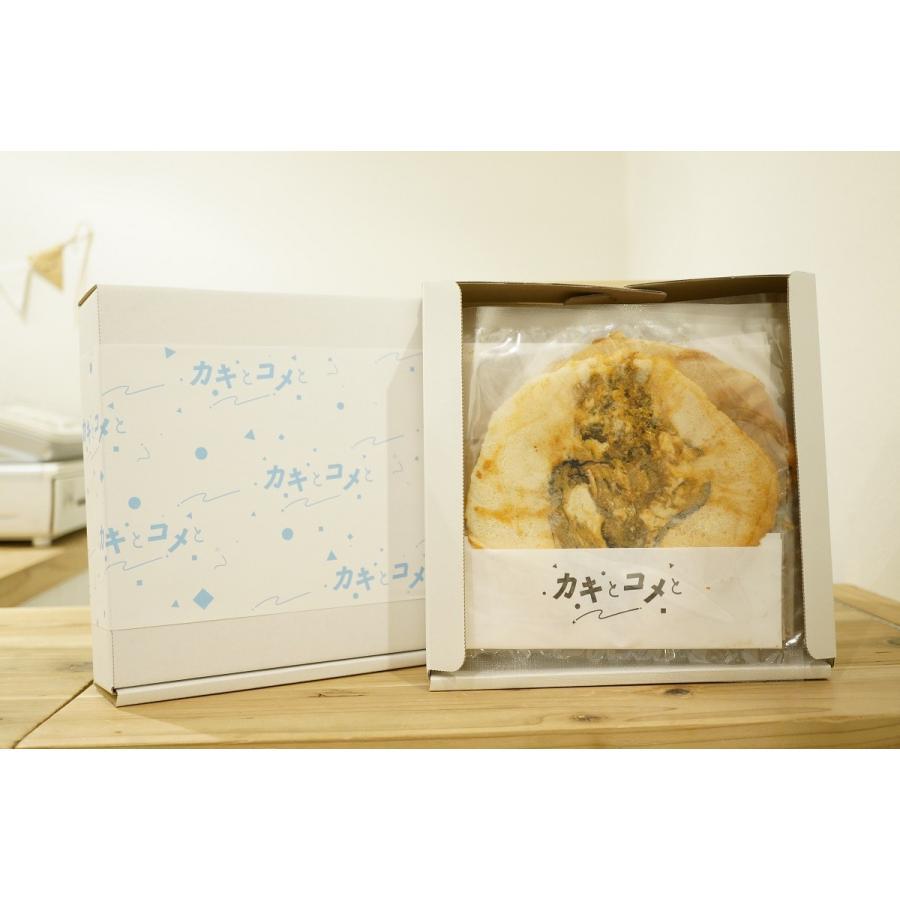 牡蠣 せんべい 「カキとコメと」 6枚入り|mpantry|05