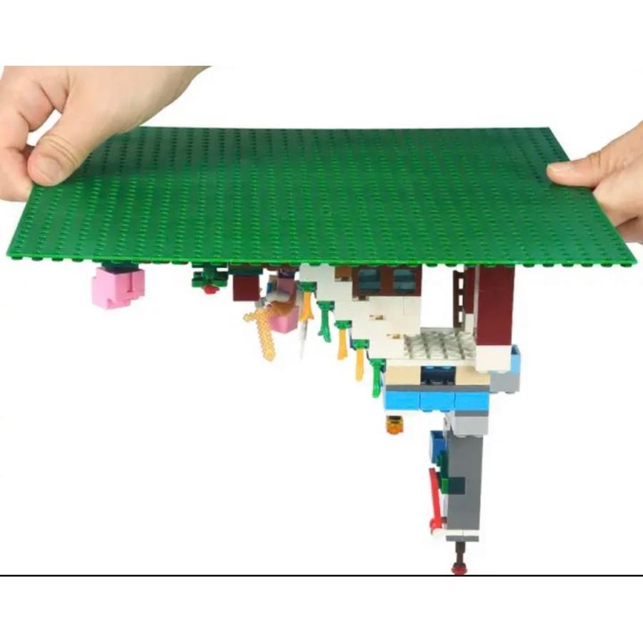 LEGOレゴクラシック互換性基礎板ブロックプレート2枚セット レゴ互換プレート レゴシティ LEGOシティ マインクラフト レゴフレンズ|mplusstore|02