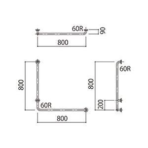 発送まで約14日程 補助手摺(樹脂被覆付) 標準取付タイプ(B・D・G)左勝手ブラウン SK-295RJ-800x800