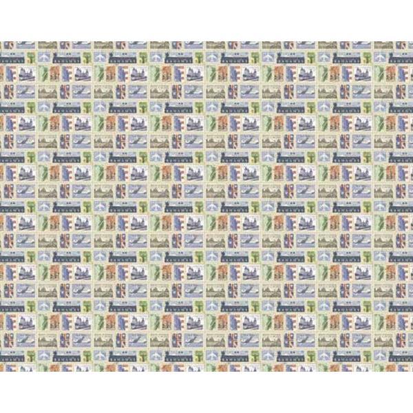 デジタルプリント壁紙 ヴィンテージ柄 v002 920mm×20m アサヒペン オーダーメイド品