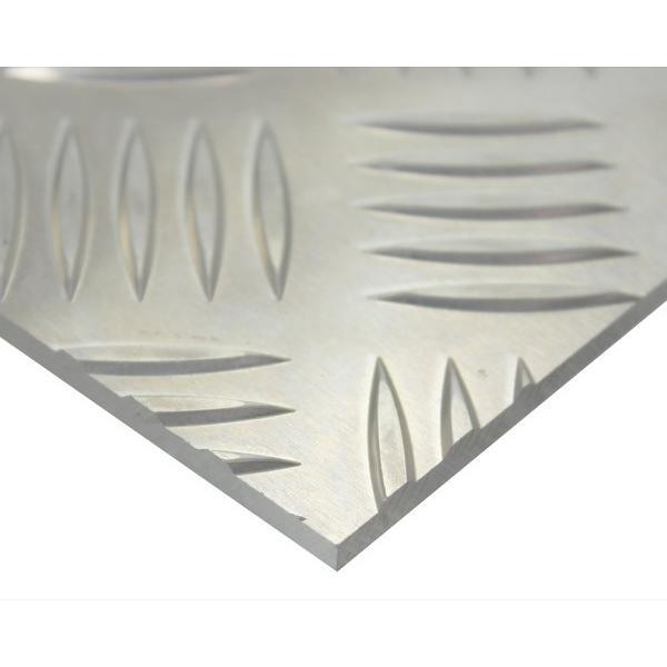 金属切板 アルミ縞板 1000mm×1000mm 厚さ3mm オーダーメイド品 納期約8営業日