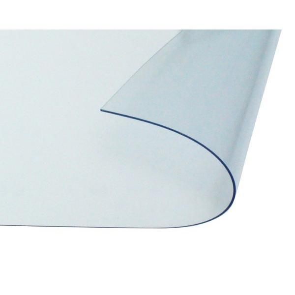 オーダーメイド 屋外、屋内兼用 防炎、制電 ビニールカーテン 0.5mm厚 製作幅1,000mm〜1,800mm内 製作高さ2,000mm内 透明 糸なし HE-050B-06 納期約2週間