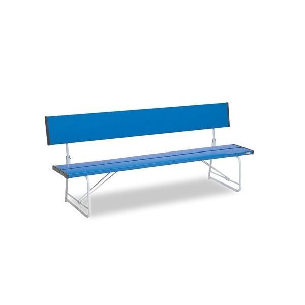 コマーシャルベンチ1800 折畳 青 サイズ:約W1805×D516×H740(SH370)mm 重量:約17.4kg