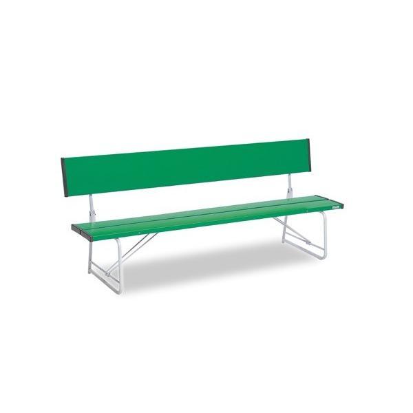 コマーシャルベンチ1800 折畳 緑 サイズ:約W1805×D516×H740(SH370)mm 重量:約17.4kg