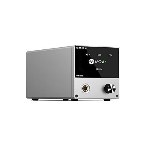 S.M.S.L M500 DAC ヘッドホンアンプ プリアンプ 一体型「ES9038PRO」内蔵/MQA·ハイレゾ·DSD音源対応/高出力電