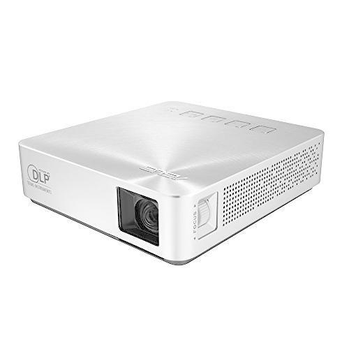 ASUS 小型ミニ プロジェクターS1 ( 軽量342g / 高さ3cm / 200ルーメン / HDMI MHL対応 / 6,000mAh mr-m 01