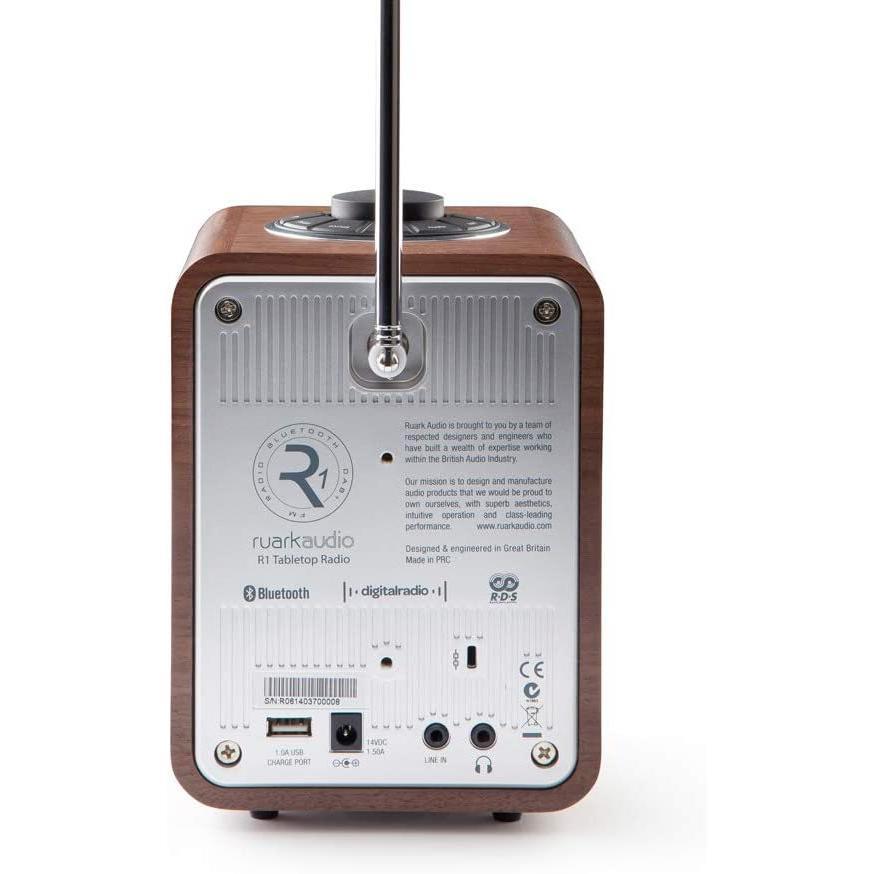 ruarkaudio R1 Mk3 Bluetooth Music System英ルアークオーディオ Bluetooth / FM / アラ|mr-m|07