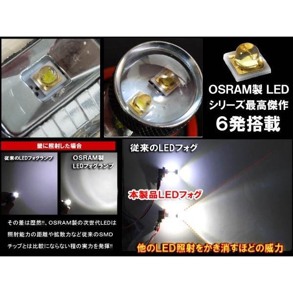 ソリオバンディッド H11 LEDフォグランプ 30W OSRAM製 純正交換 バルブ 2個セット ホワイト|mr1|02