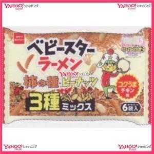 144G ラーメンコクうまチキン柿の種3種ミックス6P