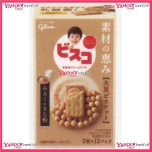 グリコ 24枚 ビスコ素材の恵み大豆みるく&きな粉