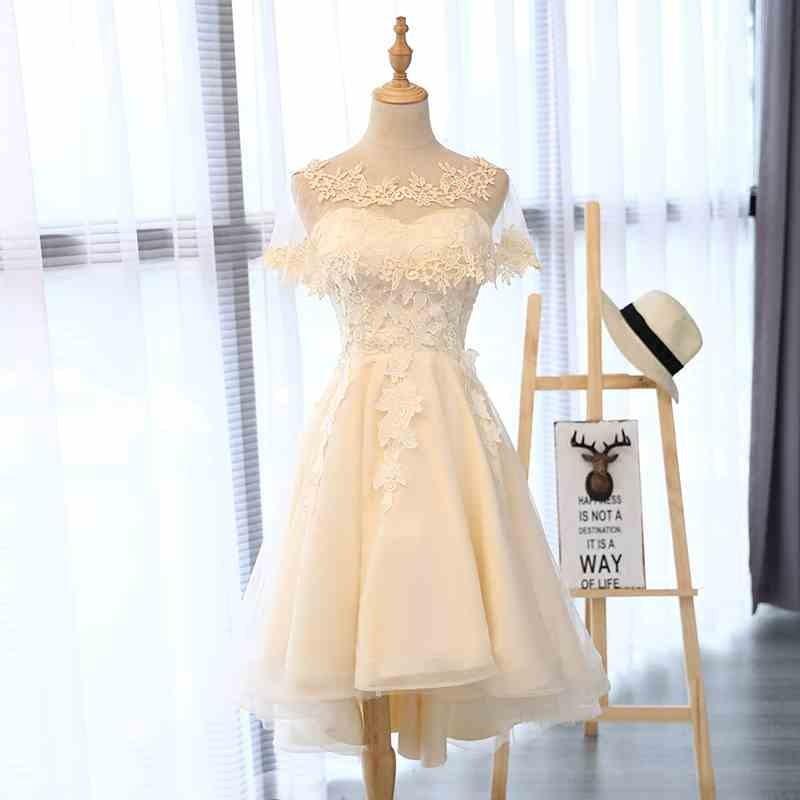 ブライズメイドドレス ゲストドレス パーティーワンピース ウェディングドレス 二次会 演奏会 花嫁