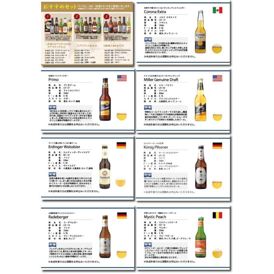贈り物に 選べるギフト 世界のビール19種類とビールによく合うおつまみ10種類から自由に6個選べるカタログギフト WORLD BEER SELECT 6 mscselectshop 02