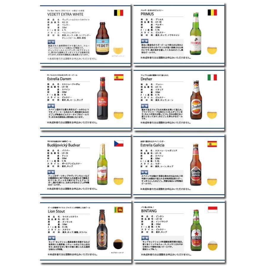 贈り物に 選べるギフト 世界のビール19種類とビールによく合うおつまみ10種類から自由に6個選べるカタログギフト WORLD BEER SELECT 6 mscselectshop 03