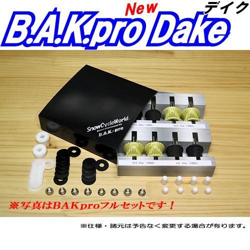体重65kg前後用BAKproDakeボードアタッチメントキットマイルド中量者向スノーサイクルワールド製バックプロデイクproラバー4ヶセット mshscw4 04