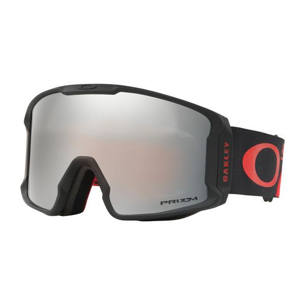 Oakley オークリー Line Miner Snow ラインマイナー スノー ゴーグル Henrik Harlaut Classic 赤 黒 OO7080-22 アジアンフィット
