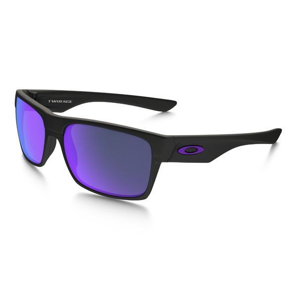 Oakley オークリー サングラス Two Face ツーフェイス OO9256-05 アジアンフィット 【Matte 黒/Violet Iridium】
