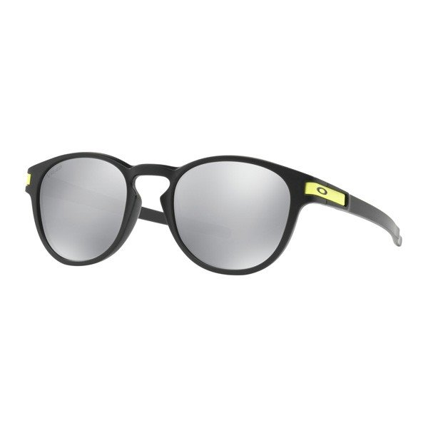 Oakley オークリー サングラス Latch ラッチ Valentino Rossi バレンティーノ・ロッシ OO9265-2153 【Matte 黒/Chrome Iridium】