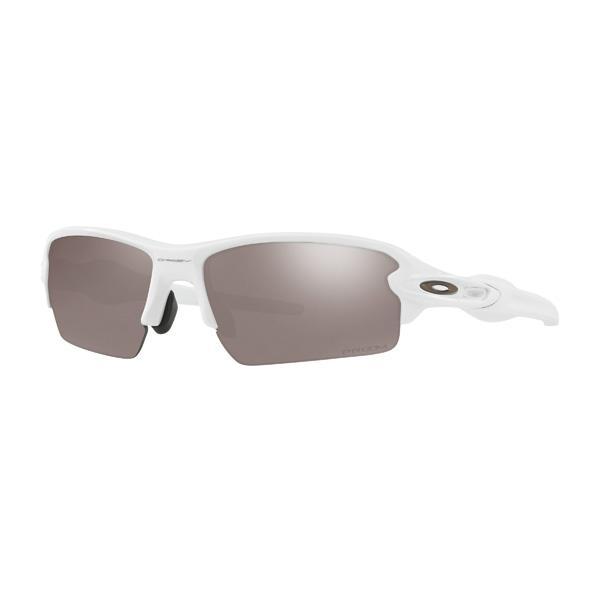 Oakley オークリー サングラス Flak 2.0 フラック2.0 OO9271-2461 アジアンフィット 【Polished 白い/Prizm 黒 Polarized】