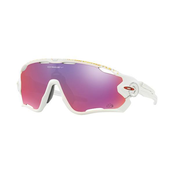 Oakley オークリー サングラス Jawbreaker ジョウブレイカー Tour de France ツール・ド・フランス OO9290-2731 【Matte 白い/Prizm Road】