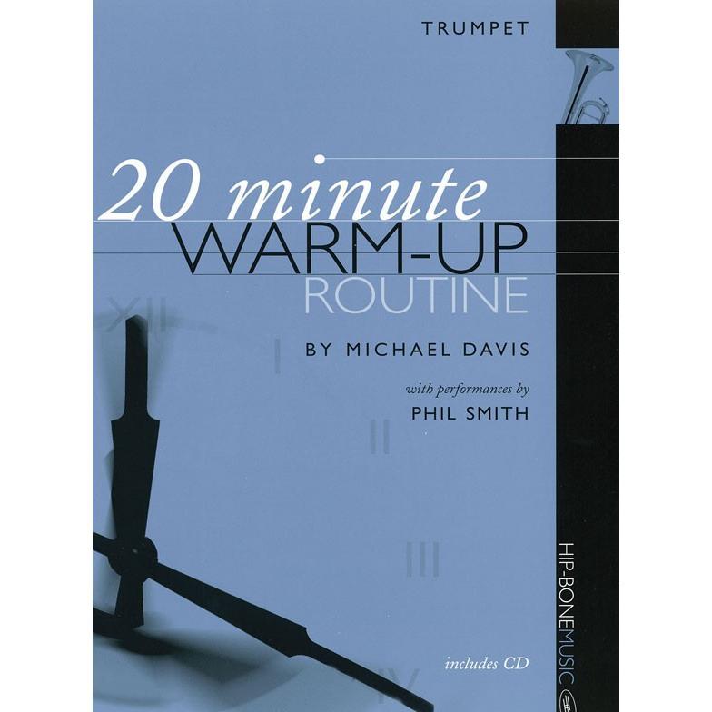 《中級者向け》 トランペットのための20分間ウォームアップ・ルーチン | Michael Davis (トランペット | メソッド・教則本)|msjp