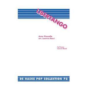 取寄   試聴可   リベルタンゴ   アストル・ピアソラ/arr. ロレンツォ・ボッチ  ( 吹奏楽   楽譜 ) msjp