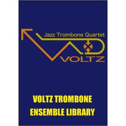 試聴可 | VOLTZ | ヴォルツ楽譜 |  スターダスト | ホーギー・カーマイケル/arr. 三塚 知貴 (トロンボーン | 四重奏 | セット)|msjp
