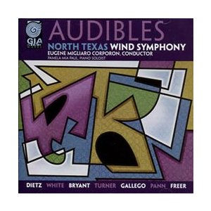 オーディブルス   ノース・テキサス・ウインド・シンフォニー  ( 吹奏楽   CD ) msjp