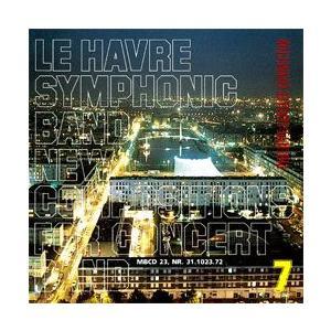取寄   モレナール・エディション楽譜参考演奏    New Compositions for Concert Band 7   Le Havre Symphonic Band  ( 吹奏楽   CD ) msjp