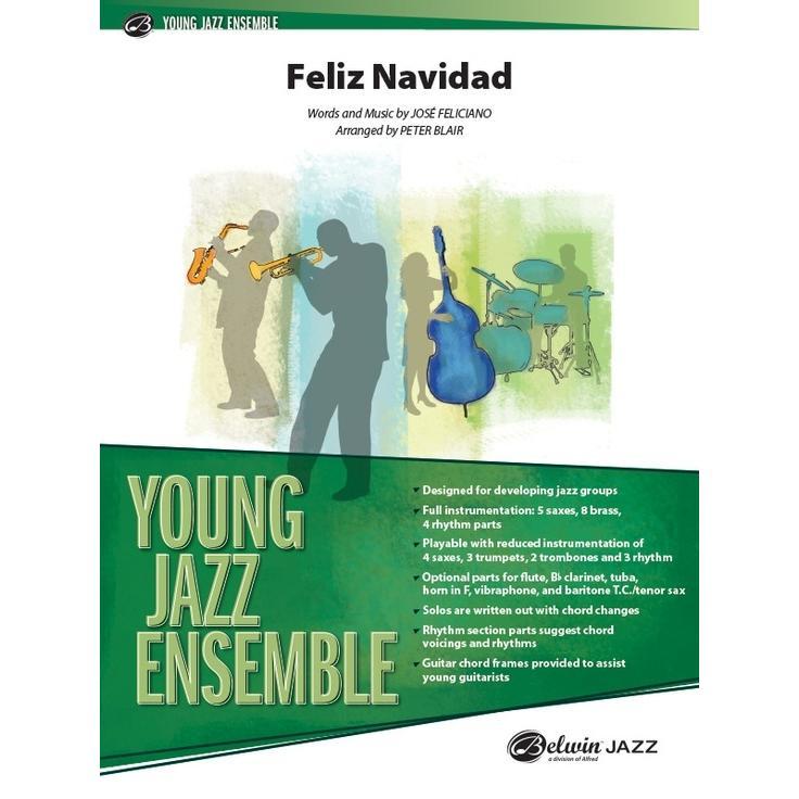 取寄 | 試聴可 | Feliz Navidad | Jose Feliciano / arr. Peter Blair  ( ビッグバンド | 楽譜 )|msjp