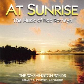日の出:ロブ・ロメイン作品集 | ワシントン・ウインズ  ( 吹奏楽 | CD )|msjp