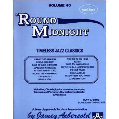 ジェイミー・プレイアロング Vol. 40:ラウンド・ミッドナイト (2枚組) ( | マイナスワン)|msjp