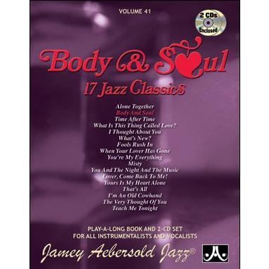 ジェイミー・プレイアロング Vol. 41:ボディー・アンド・ソウル (2枚組) ( | マイナスワン)|msjp