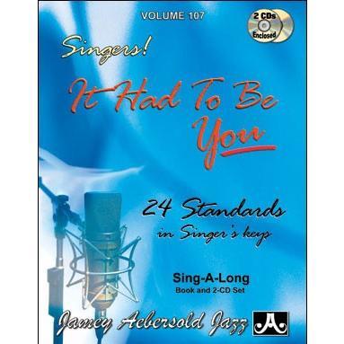 ジェイミー・プレイアロング Vol. 107:スタンダード・フォー・シンガーズ (2枚組) ( | マイナスワン)|msjp