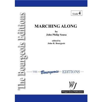 取寄   試聴可   マーチング・アロング   ジョン・フィリップ・スーザ/arr. ジョン・R. ブージョワー (吹奏楽   フルスコア) msjp