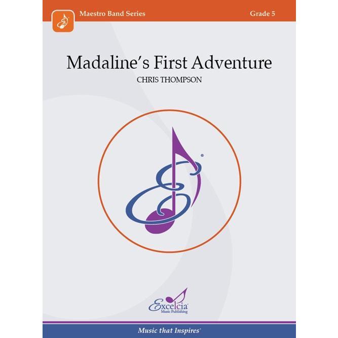 取寄 | Madaline's First Adventure | クリス・トンプソン (吹奏楽 | フルスコア)|msjp