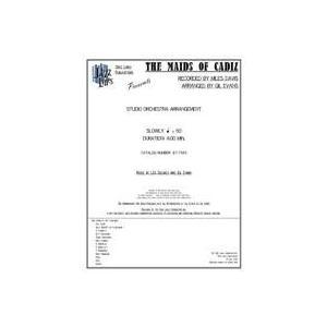 取寄 | Maids of Cadiz | arr. Gil Evans ・ Edited by Jeffrey Sultanof and Rob DuBoff  ( ビッグバンド | 楽譜 )|msjp