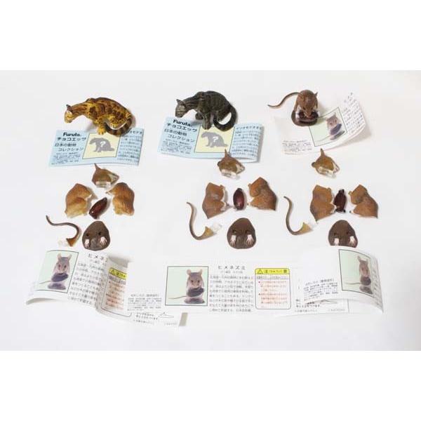 チョコエッグ 日本の動物 第5弾 大量 500個以上 セット 全24種+シークレット イリオモテヤマネコ2種 パルコ 限定 ヒメネズミ ハート有り