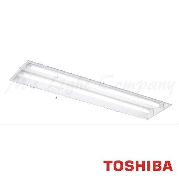 東芝 LEDRJ-42475K-LS9 LED非常用照明 一般形 埋込開放形 LDL40×2 天井取付専用 非常時2500lm×50%点灯 自己点検機能付 ランプ付(同梱) 『LEDRJ42475KLS9』
